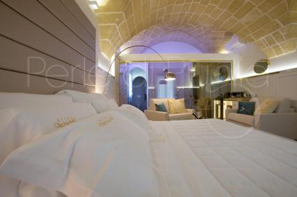 Suite Ionia has a queen size amrchair-bed as third bed accommodation