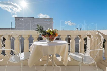Suite Egea has a lovely private balcony